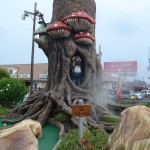The Troll Tree is the eighth hole at Ocean City mini golf