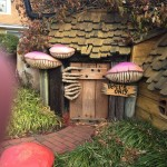 Mini golf decor trolls only hideaway house