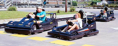 Family Single & Double Go Karts Thunder Lane Go-Karts Ocean City