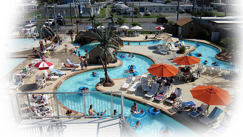 Swimming pool at Ocean City MD waterpark